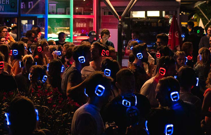 Silent Disco Open Air Veranstaltungen – von Experten organisiert.